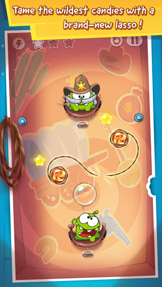 ZeptoLab updates Cut The Rope: Time Travel, Cut the Rope: Experiments, and Cut the Rope: Holiday Gift with new content