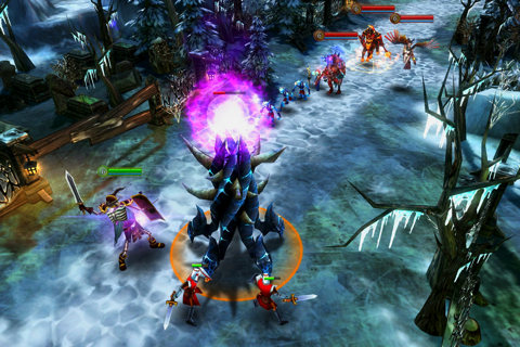 Gameloft's new MOBA game Heroes of Order & Chaos delayed on Android