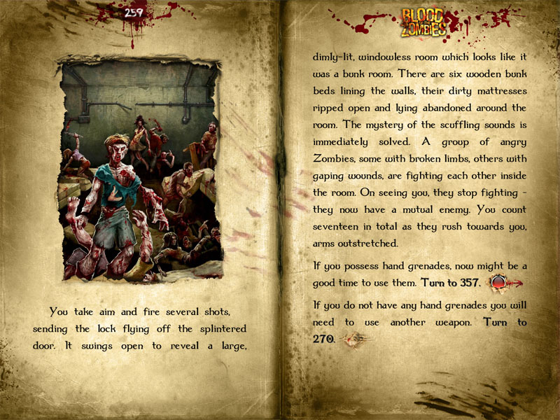 Top game book Fighting Fantasy: Blood of the Zombies free on Amazon for one day only
