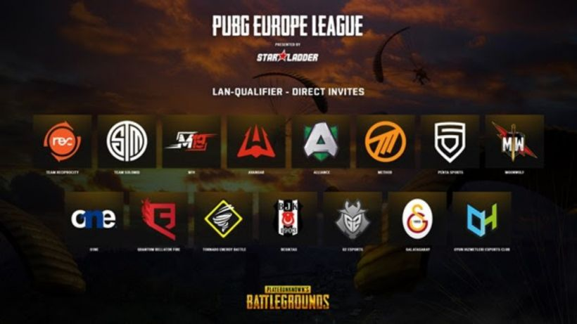 Here are the teams for the latest PUBG Europe League