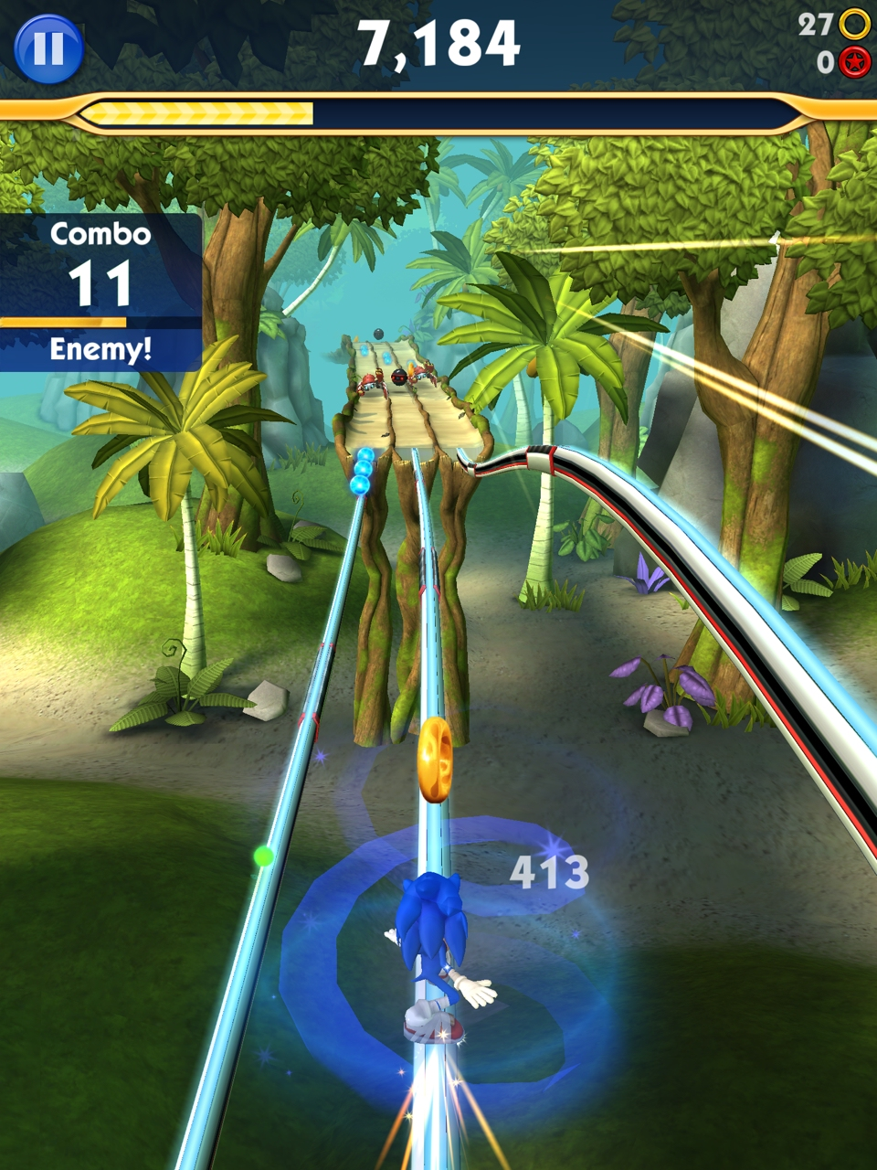 Sonic Dash 2: Sonic Boom - Faster than the speed of love?