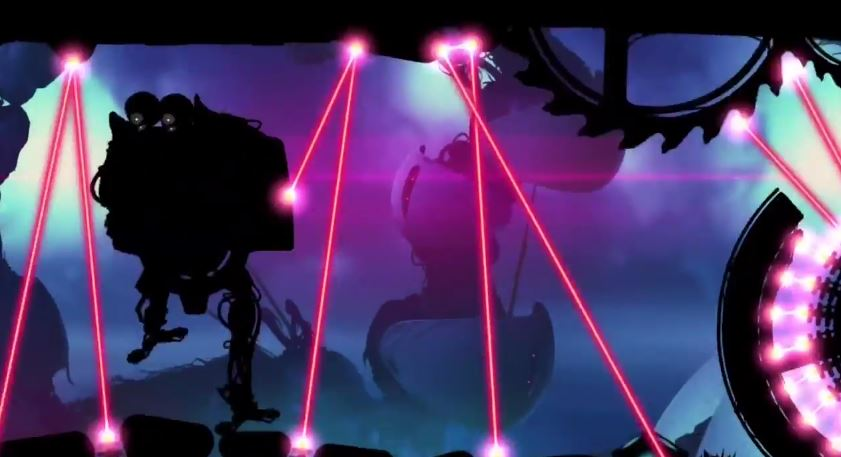 Stompy mechs and deadly lasers feature in Badland's Day II - The Night update