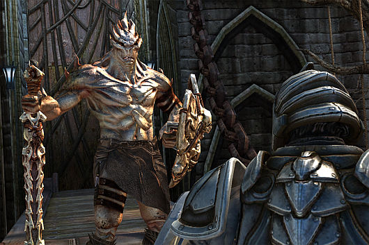 Infinity Blade update to add new areas, enemies, and weapons next week
