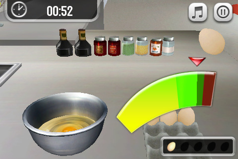 Free iPhone game: Pocket Chef