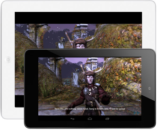The Tablet Test: iPad 3 versus Android Nexus 7, featuring Horn
