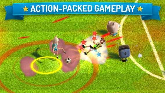 Out at midnight: CN Superstar Soccer is a cartoon fuelled kickabout for iPad and iPhone