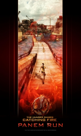 Tie-in mobile game for The Hunger Games: Catching Fire is a competitive endless-runner