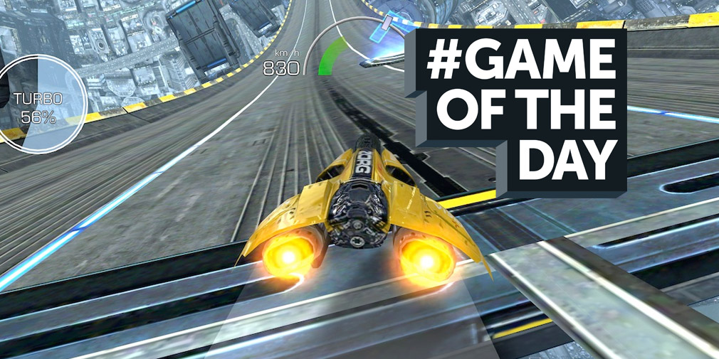 GAME OF THE DAY - AG Drive is a love-letter to futuristic racers of the past