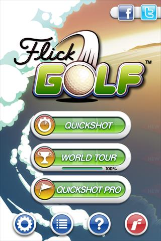 Casual iPhone hit Flick Golf! swings onto the Android Market