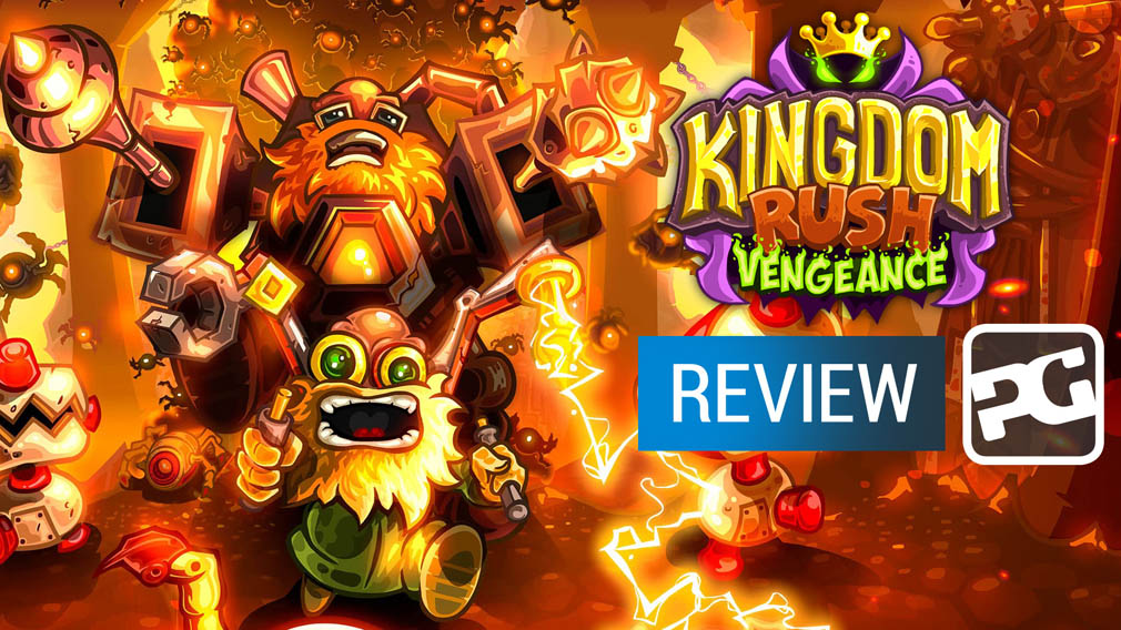 "Kingdom Rush Vengeance video review - ""Another tower defense classic"""