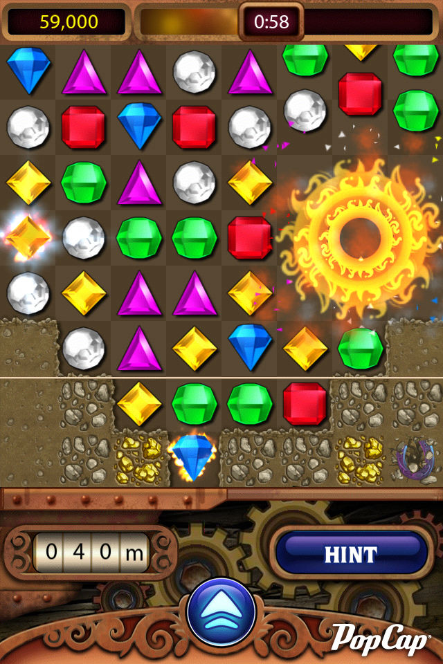 PopCap launches freemium Bejeweled Blitz and new version of Bejeweled on iOS