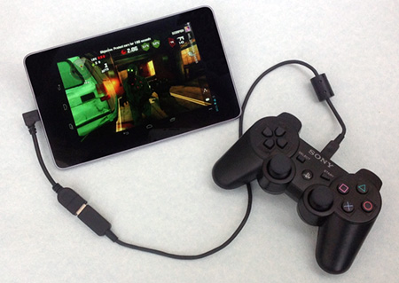 How to connect a PS3 or Xbox 360 controller to your Nexus 7