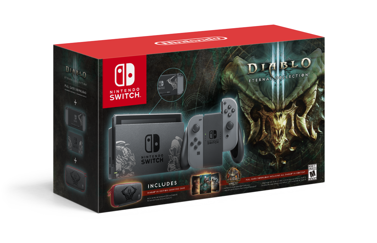 Diablo III's Switch release is getting its own gorgeous console bundle