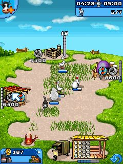 Farm Frenzy 2 being planted on Java mobiles