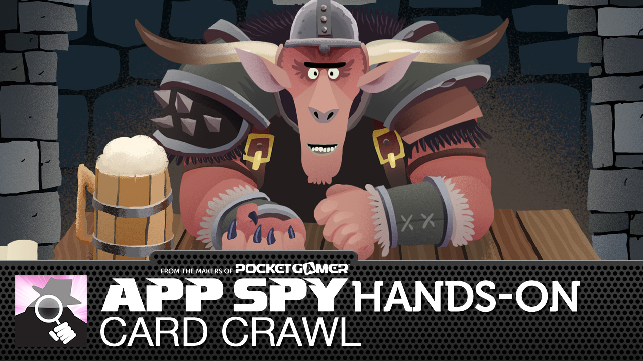 Card Crawl is you against a deck of cards (and an angry looking burly man)