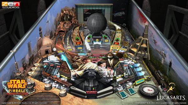 Han Solo, C-3PO, and R2-D2 will get their own tables in Star Wars Pinball: Heroes Within this spring