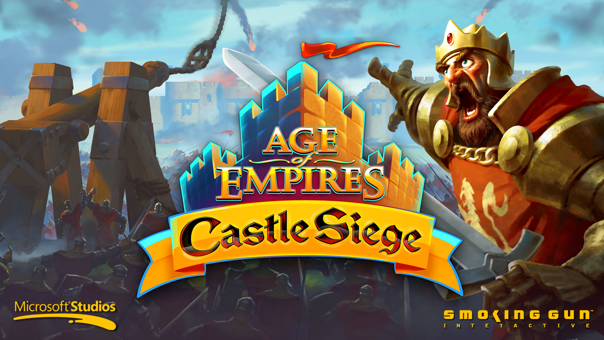 After a lengthty delay, Age of Empires: Castle Siege is finally out on Android