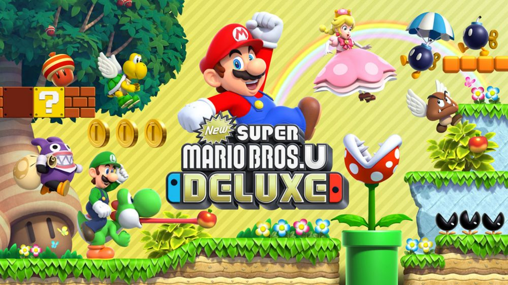 New Super Mario Bros. U Deluxe is the latest Switch port of a Wii U game