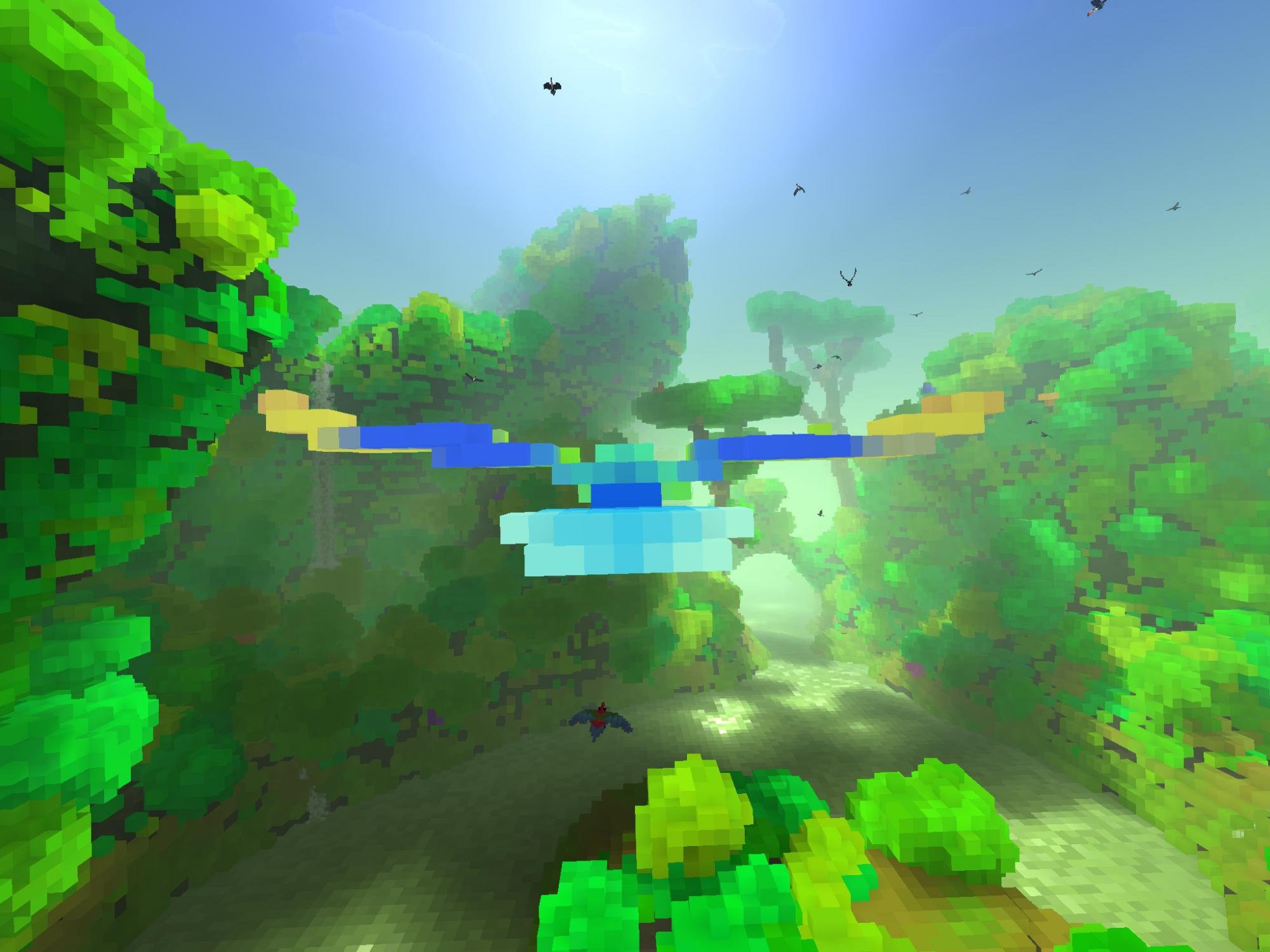 Beautiful zen-like flying game Fugl shows off its oasis and jungle in new video