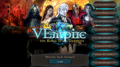 VEmpire - The Kings of Darkness is a spooky deck-builder that's out now for iPhone and iPad