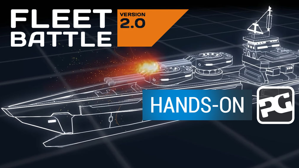 "Fleet Battle hands-on video - ""It's Battleships on your phone and that's fine by us"""
