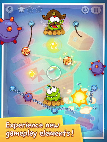 Cut the Rope: Time Travel gets updated with 20 new levels, is free for a limited time