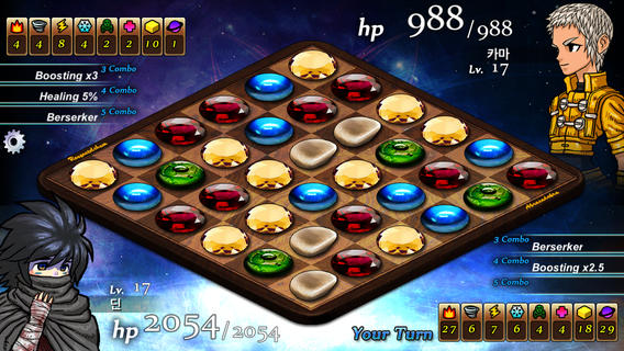 Shatter gems, match-3, and light your opponents on fire in Sorceress of Fortune