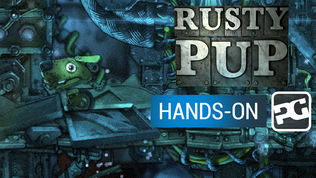 "Rusty Pup video hands-on - ""Conkers Fur Day dev delivers decrepit dog fun"""