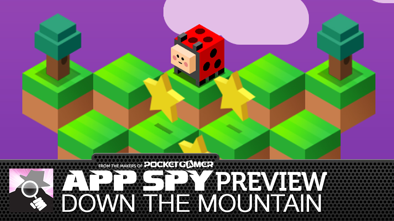 Q*Bert meets Crossy Road: Down the Mountain previewed