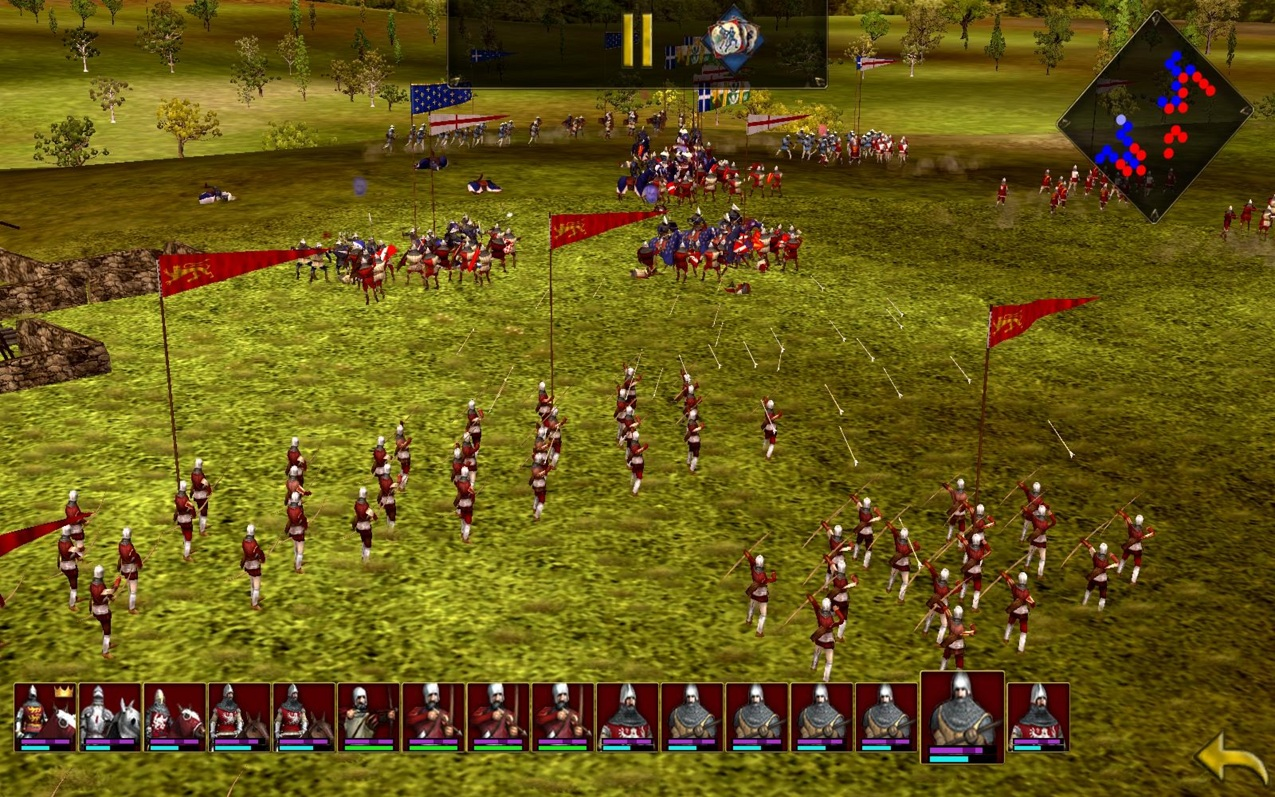 Hands on with Great Battles Medieval on the Motorola Xoom
