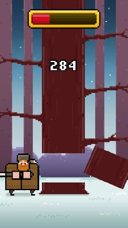 Timberman puts you to work chopping trees on iOS and Android