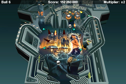 Xperia Play gets its first Pinball title - Pinball Ride