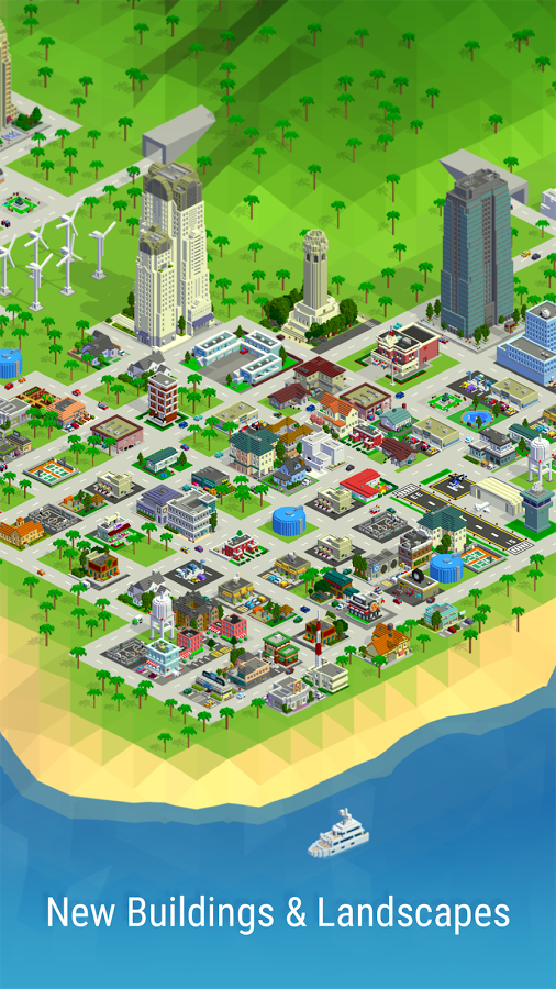 [Update] NimbleBit's town-building sim Bit City's out now on iOS and Android
