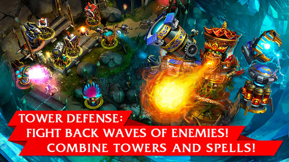 Nival's PC tower defence game Prime World: Defenders has finally landed on iOS