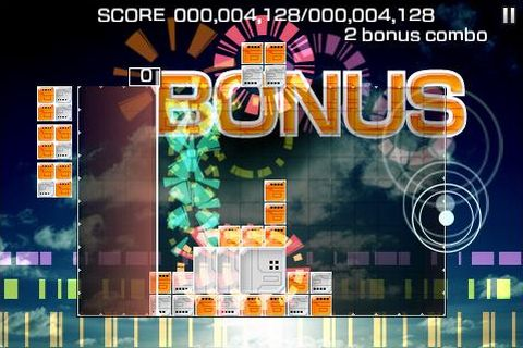 Lumines Touch Fusion block busts onto App Store
