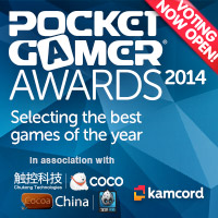 There's just a week left to vote in the Pocket Gamer Awards 2014