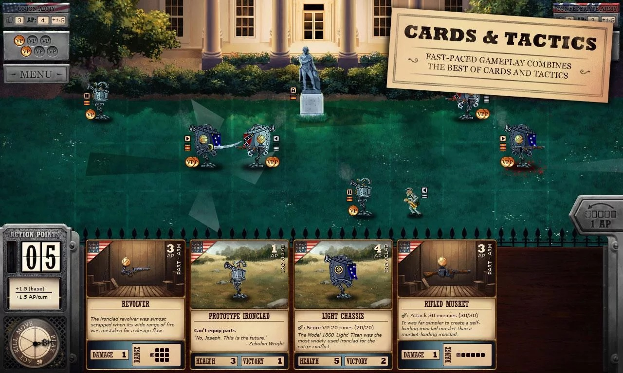 [Update] Ironclad Tactics brings a very steampunk Civil War to Android devices