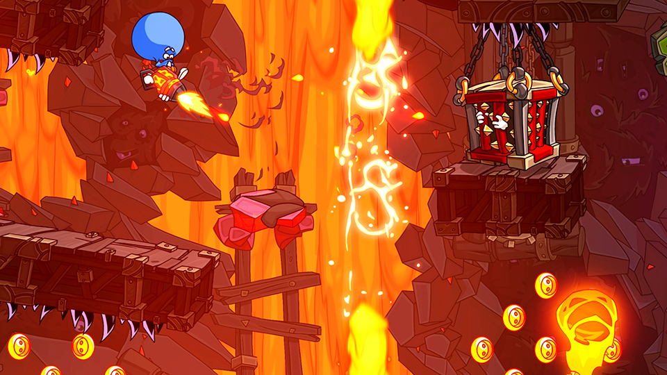 Hardcore platformer Lost Socks: Naughty Brothers updated with MFi controller support, iCloud support and more