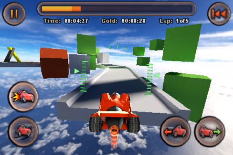 Jet Car Stunts for iPhone on sale this weekend – 59p/99c