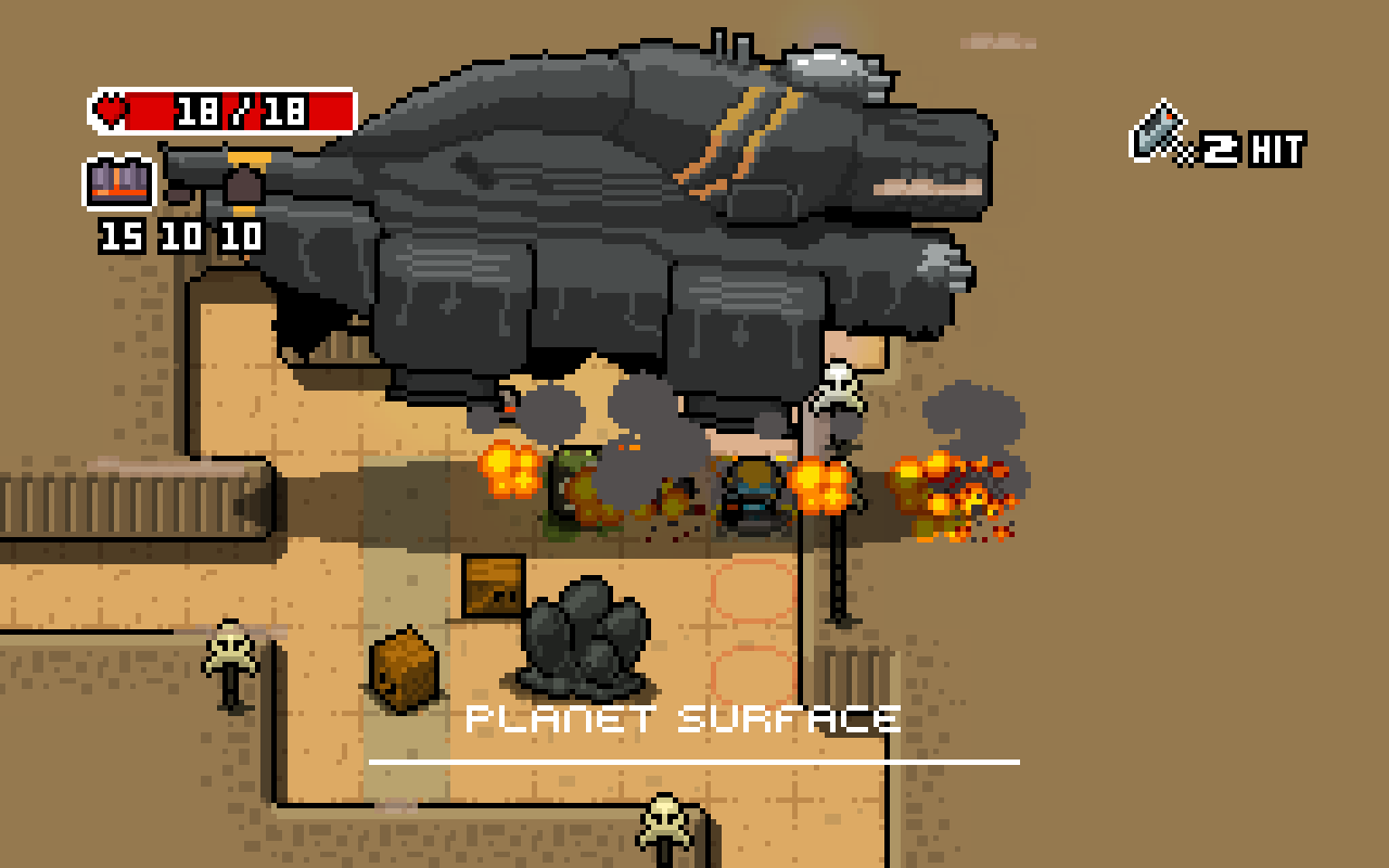[Update] Turn-based rogue-like Space Grunts is out now