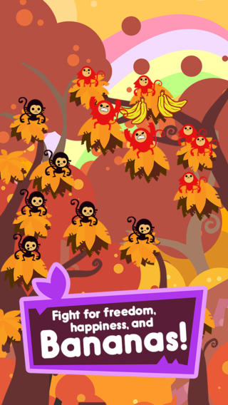 Jungle Rumble: Freedom, Happiness and Bananas