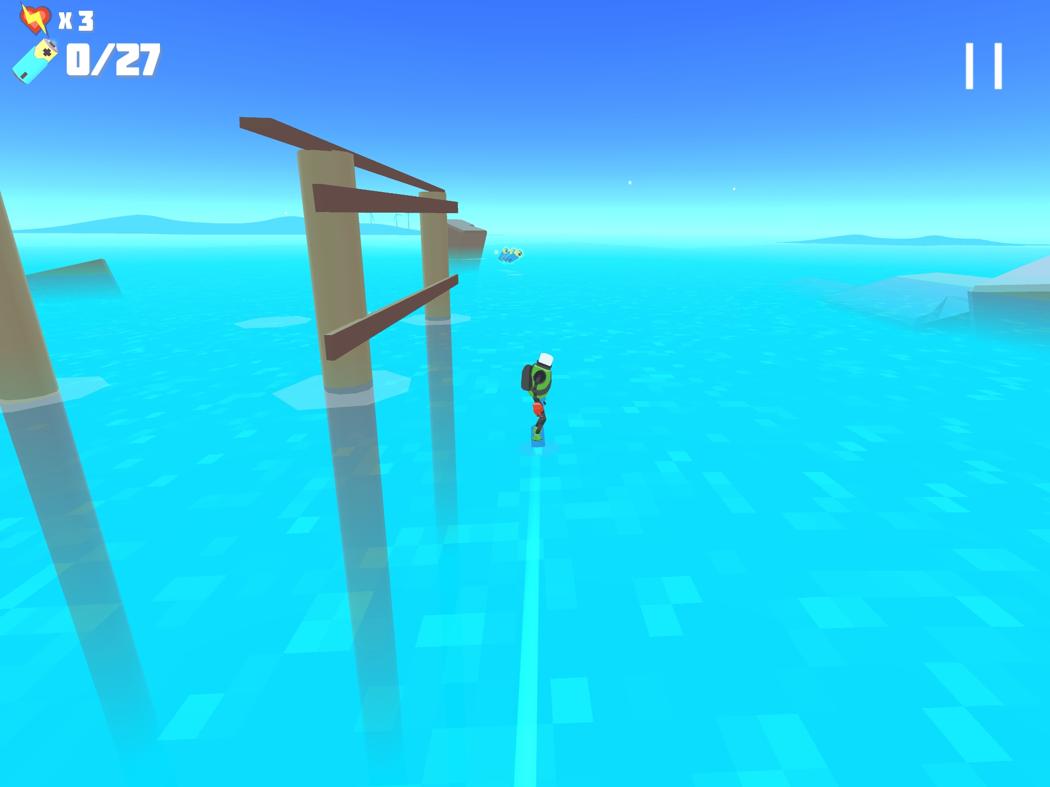 Power Hover - A surprisingly brilliant hover-boarding game
