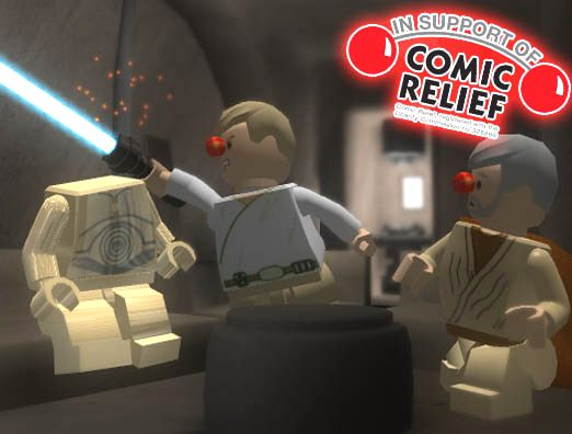 Lego Star Wars II special Red Nose Day code adds further comic relief