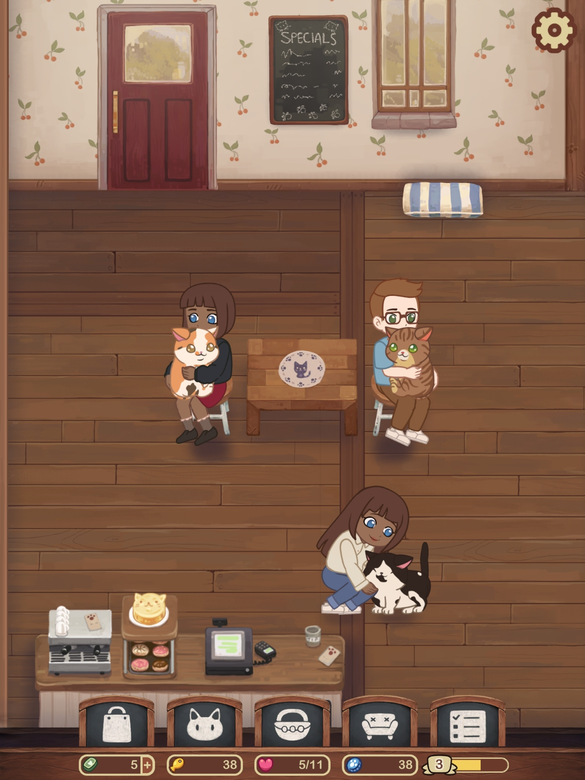Furistas Cat Cafe review - A cute, gentle idle management game for all the family