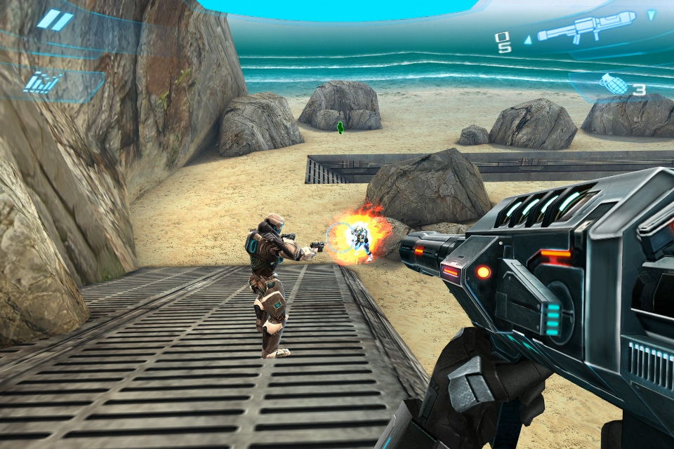 iPhone shooter N.O.V.A. 2 gets three new multiplayer maps