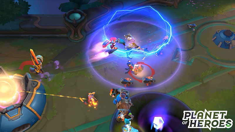 Gamescom 2016 - Planet of Heroes is a MOBA with a difference…