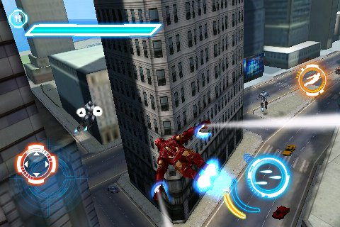iron man 2 dsiphonemobilepsp screenshot 1 - Jeux D Iron Man
