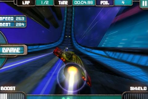 iPhone game Low Grav Racer 2 free till midnight