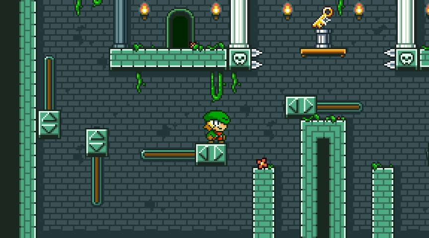 Go 16bit with Super Dangerous Dungeons, out now on iPhone and iPad
