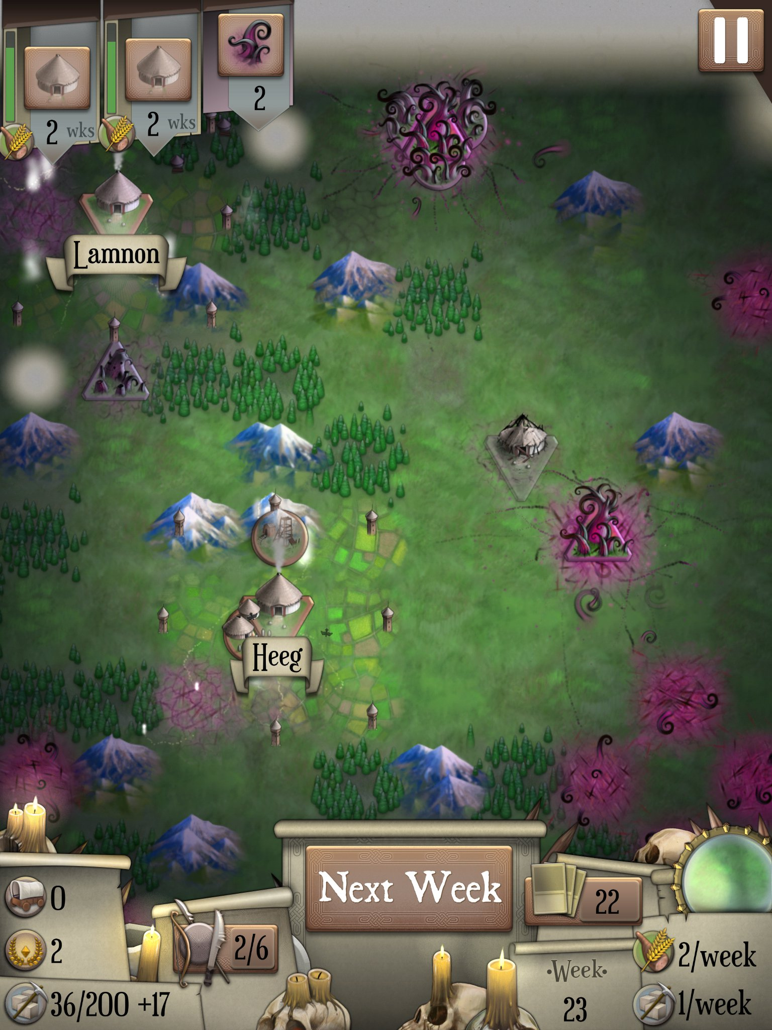 Silver Award-winning card and strategy mash-up Empire is just 69p / 99c for iPad and iPhone